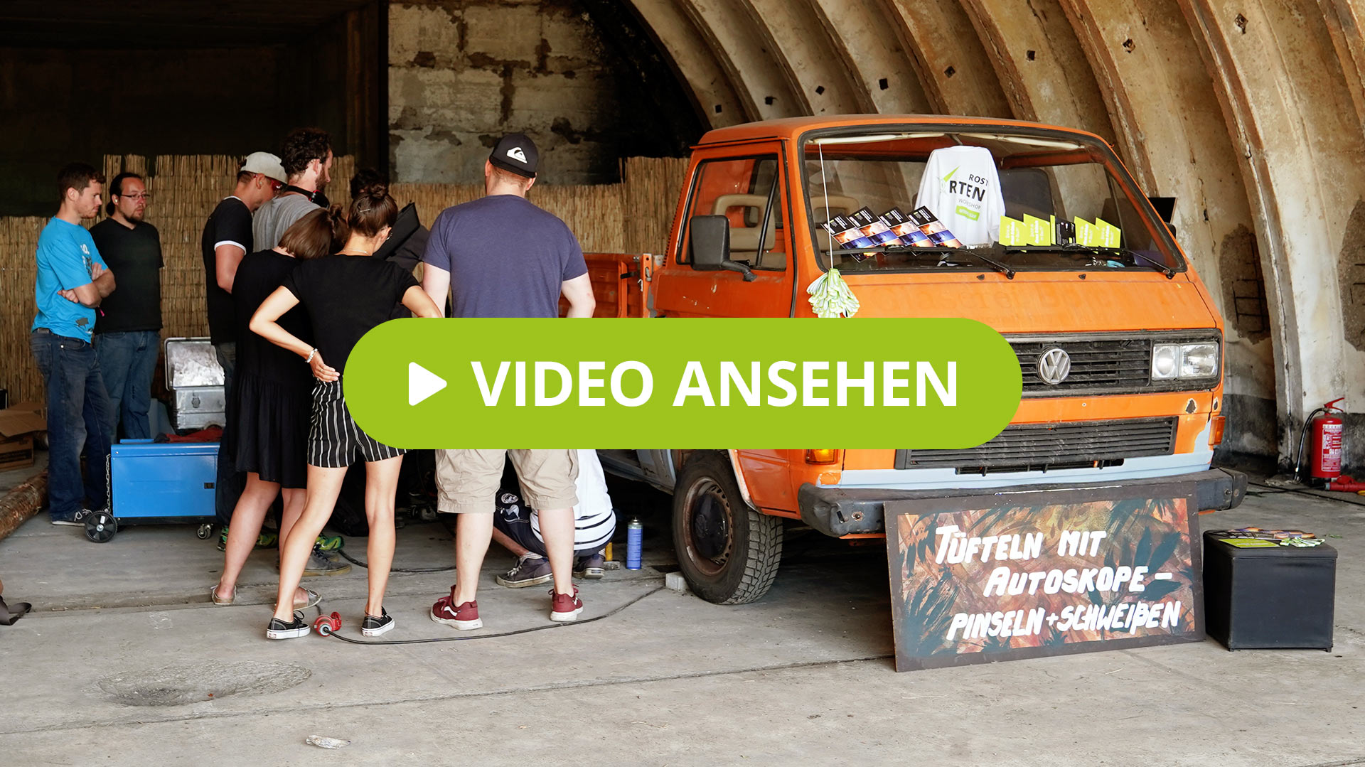 Autoskope-Workshop auf dem About You Pangea-Festival 2019